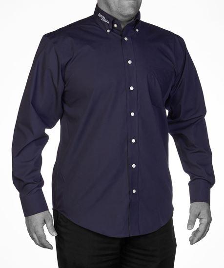 Image sur Chemise pour Homme Noir
