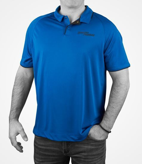 Picture of Men's Polo Blue Invictus and Black